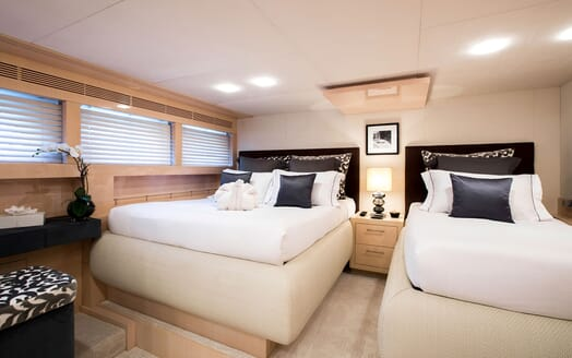 Motor Yacht TATII Guest Twin Room