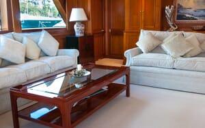 Motor Yacht Cassiopeia salon