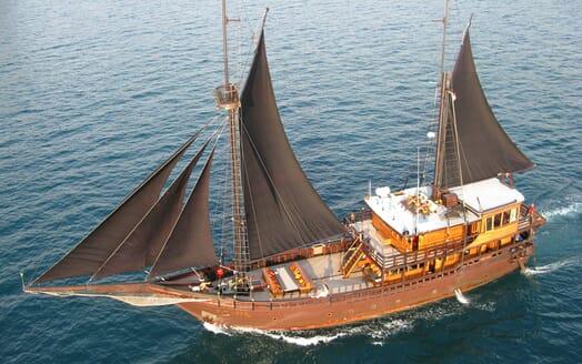 Sailing Yacht El Aleph cruising
