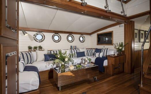 Sailing Yacht Alexa of London VIP cabin