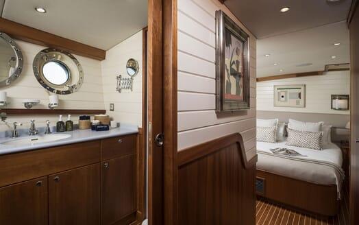 Sailing Yacht Alexa of London anchored