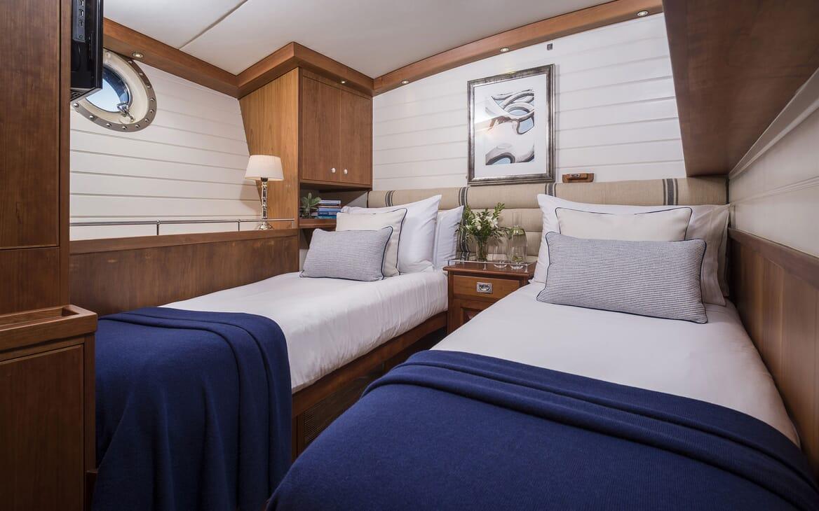 Sailing Yacht ALEXA OF LONDON Twin Stateroom