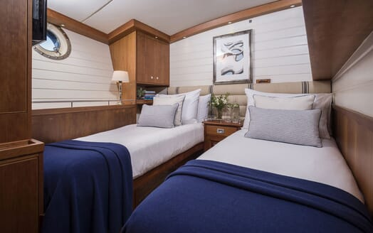 Sailing Yacht Alexa of London master cabin