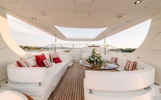 Motor Yacht Perla Nero main deck