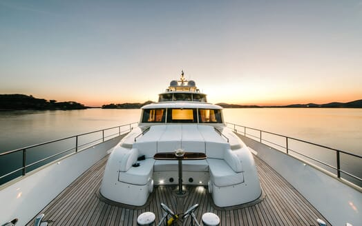 Motor Yacht Perla Nero foredeck