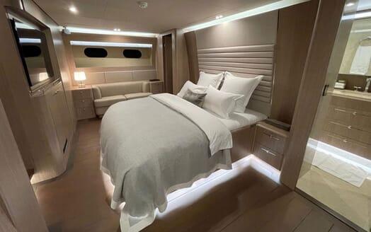 Motor Yacht Perla Nero twin cabin