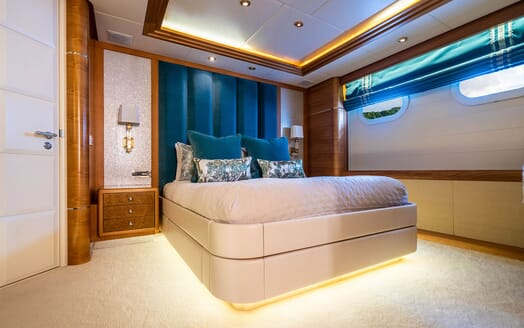 Motor Yacht VIBRANCE Guest Double Stateroom 3