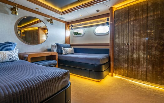 Motor Yacht VIBRANCE Guest Twin Stateroom 1