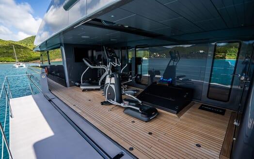 Motor Yacht VIBRANCE Gym