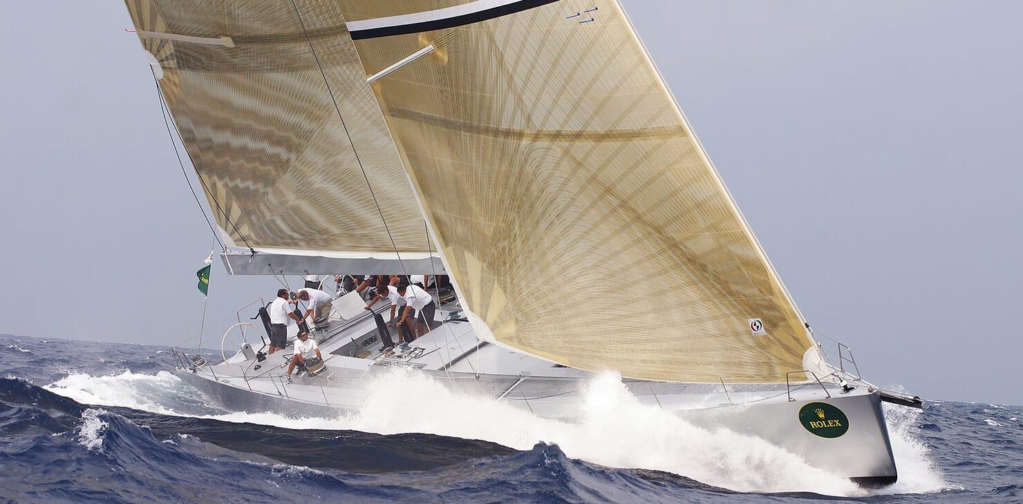 Sailing Yacht Roma sailing