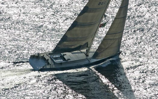Sailing Yacht Roma cruising