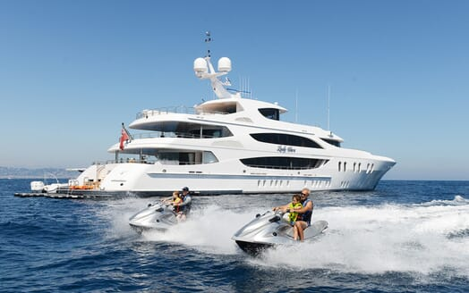 Motor Yacht Lady Sara toys