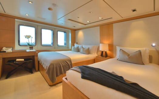 Motor Yacht TRIPLE 7 Twin Guest Stateroom