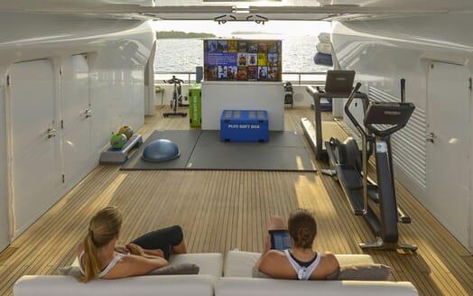 Motor Yacht TRIPLE 7 Gym