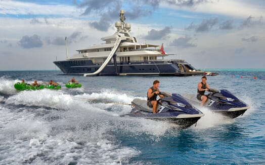 Motor Yacht TRIPLE 7 Jet skis and Toys