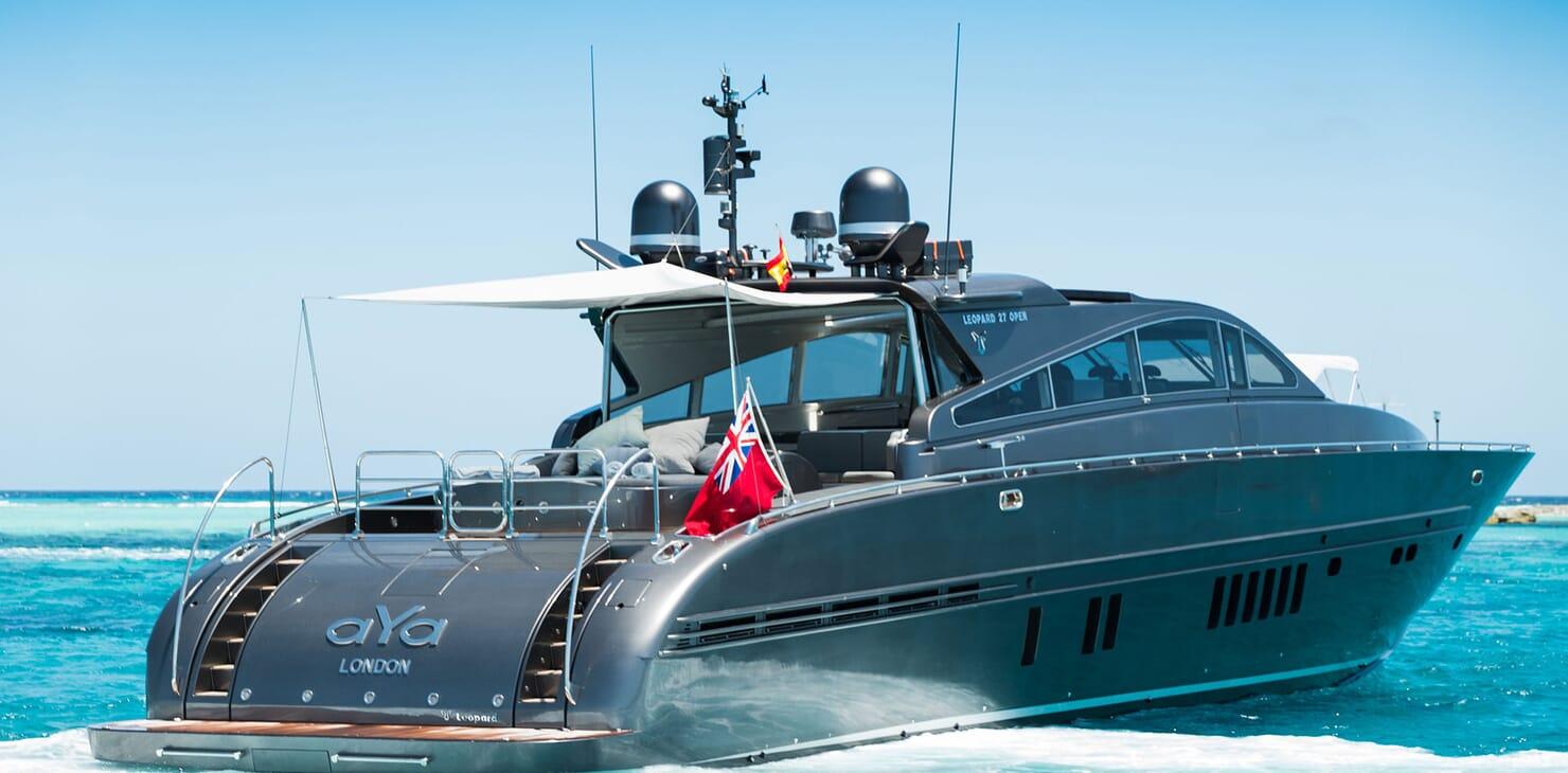 Motor Yacht AYA Exterior Aft
