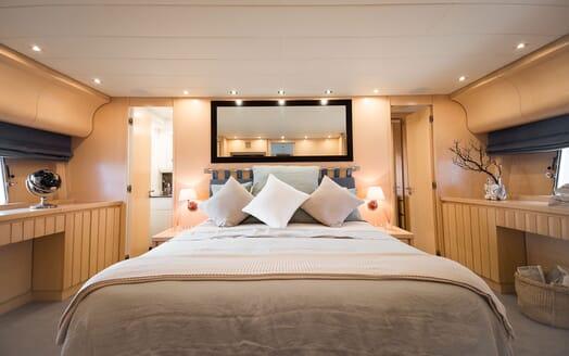 Motor Yacht AYA Master Stateroom