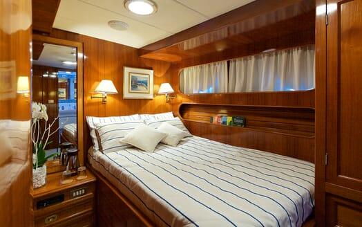 Sailing Yacht Hermina guest cabin