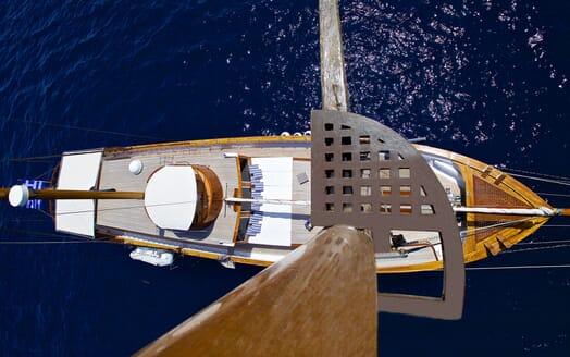 Sailing Yacht Hermina aerial