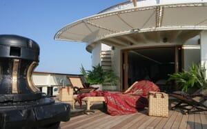 Motor Yacht Prometej deck