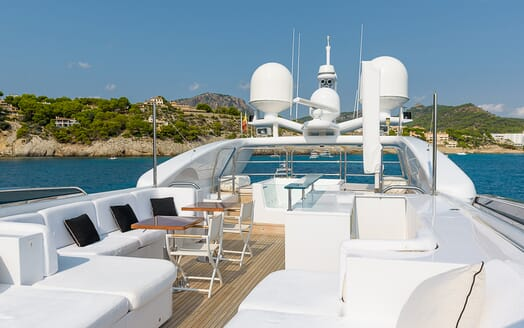 Motor Yacht Lisa IV main deck
