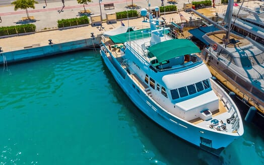 Motor Yacht Voyager aerial