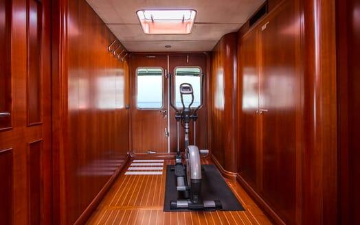 Motor Yacht Voyager gym