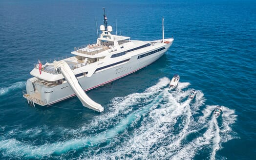 Motor Yacht Vicky Tenders and Toys