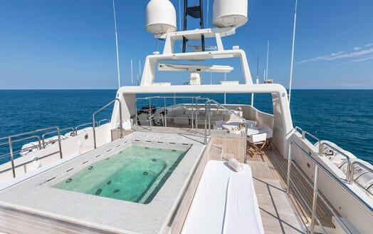Motor Yacht Vicky Sun Deck Pool 2