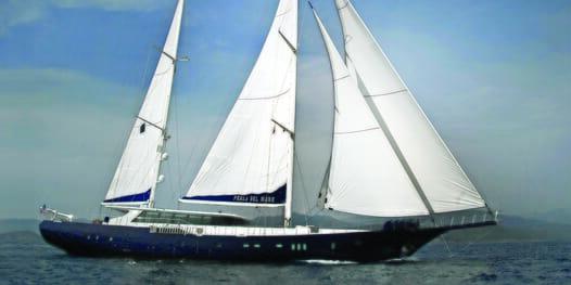 Sailing Yacht Perla Del Mare sailing
