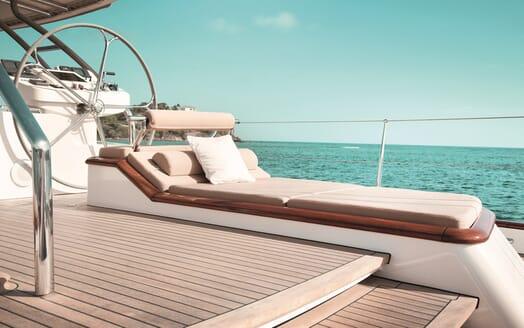 Sailing Yacht Inmocean helm