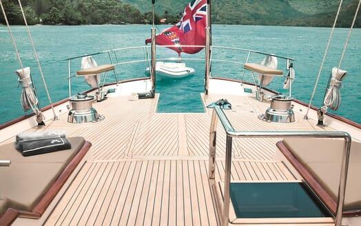 Sailing Yacht Inmocean aft deck
