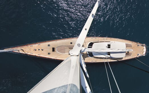 Sailing Yacht Inmocean aerial