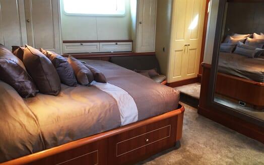 Sailing Yacht Inmocean master stateroom