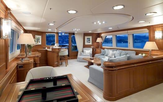 Motor Yacht Spada saloon
