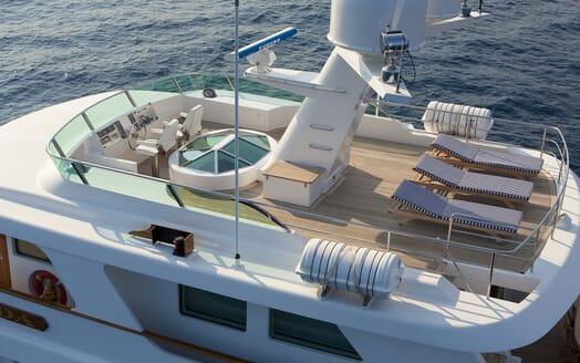Motor Yacht Spada sundeck