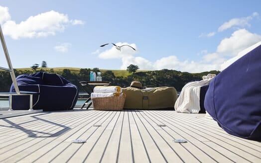 Motor Yacht WILLOW Sun Deck Detail 2