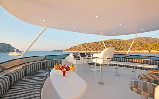 Motor Yacht Endless Summer flydeck