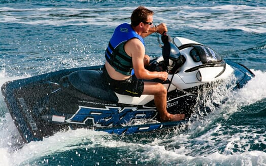 Motor Yacht Cassiopeia Jetski