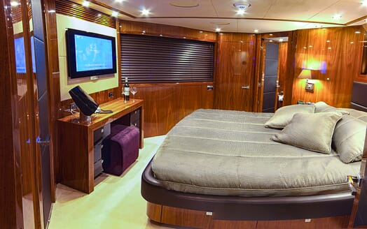 Motor Yacht Cassiopeia Double Stateroom