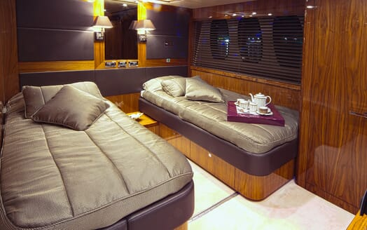 Motor Yacht Cassiopeia Twin Stateroom