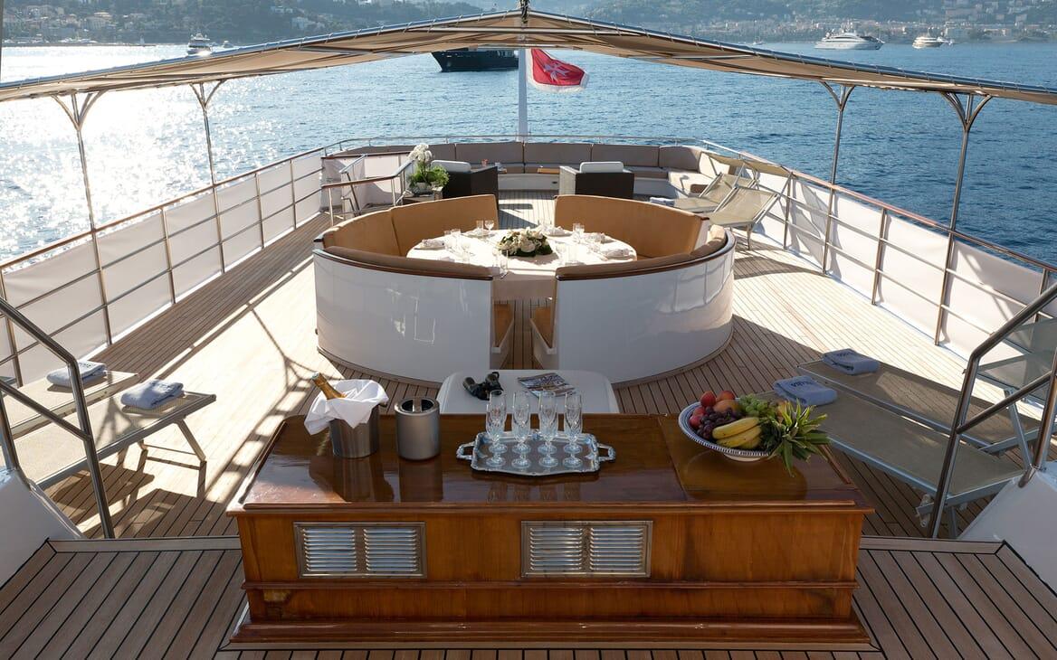 Motor Yacht SHAHA Gunwale