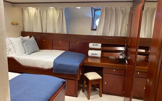 Motor Yacht SHAHA Double Stateroom