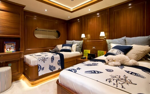 Sailing Yacht Clear Eyes twin cabin