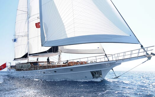 Sailing Yacht Clear Eyes helm