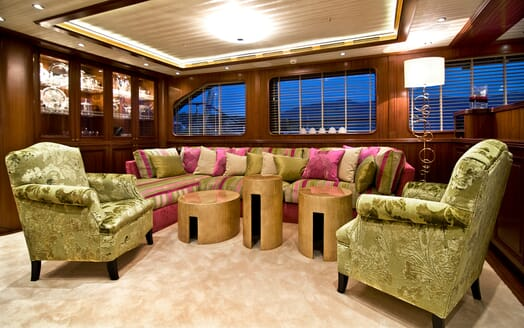 Sailing Yacht Clear Eyes seating area