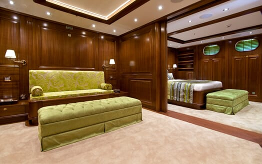 Sailing Yacht Clear Eyes VIP cabin