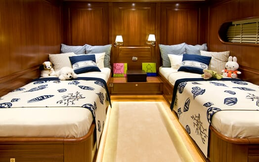 Sailing Yacht Clear Eyes twin stateroom