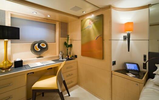 Motor Yacht Salu desk