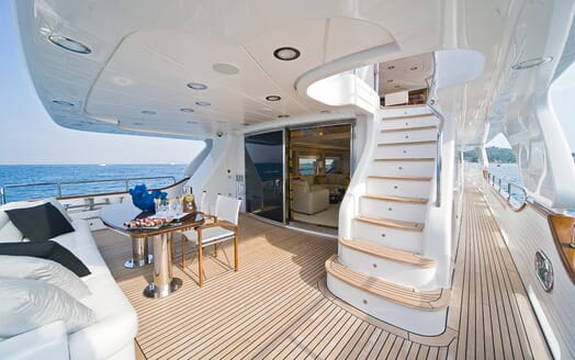 Motor Yacht Salu main deck
